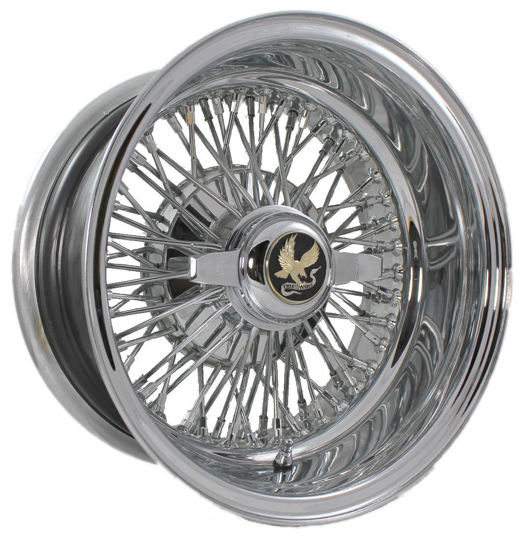 Hot Rod Wire Wheels   Truespoke   Chrome   Powdercoated   Bare