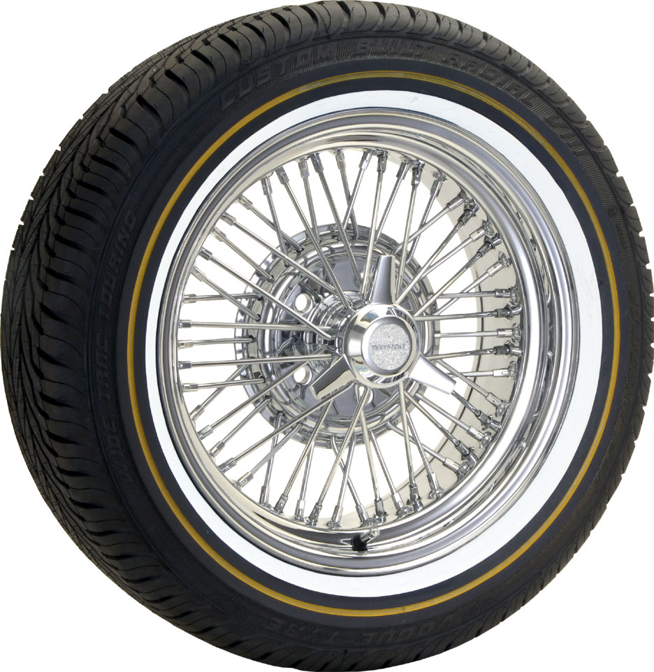 Wire Wheels: Wire Wheels With Vogue Tires
