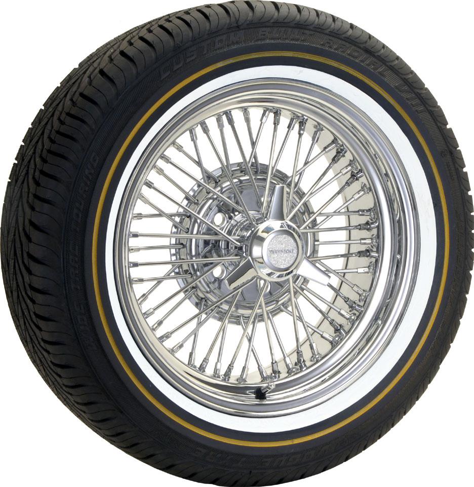 truespoke wire wheels 20 inch vogue tires  #4