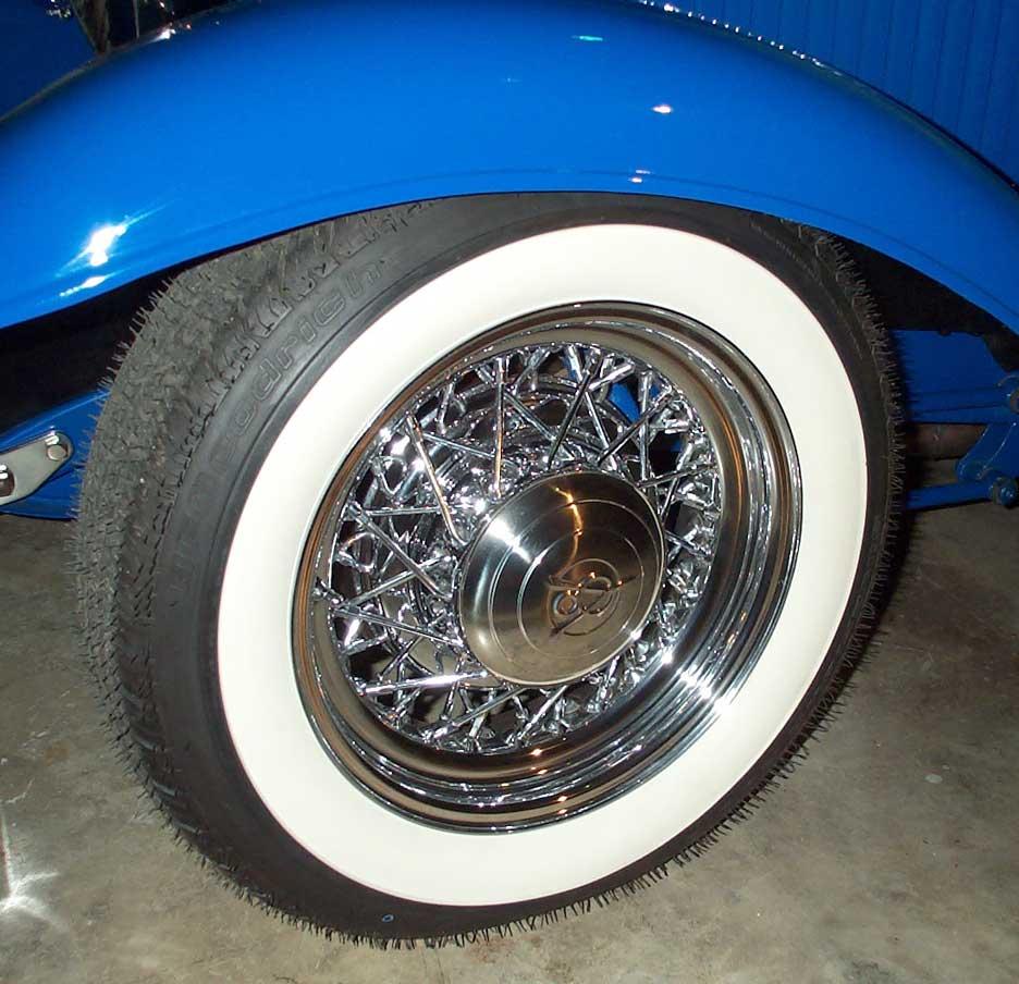 Chrome Hot Rod Wire Wheels | Truespoke | Truespokes