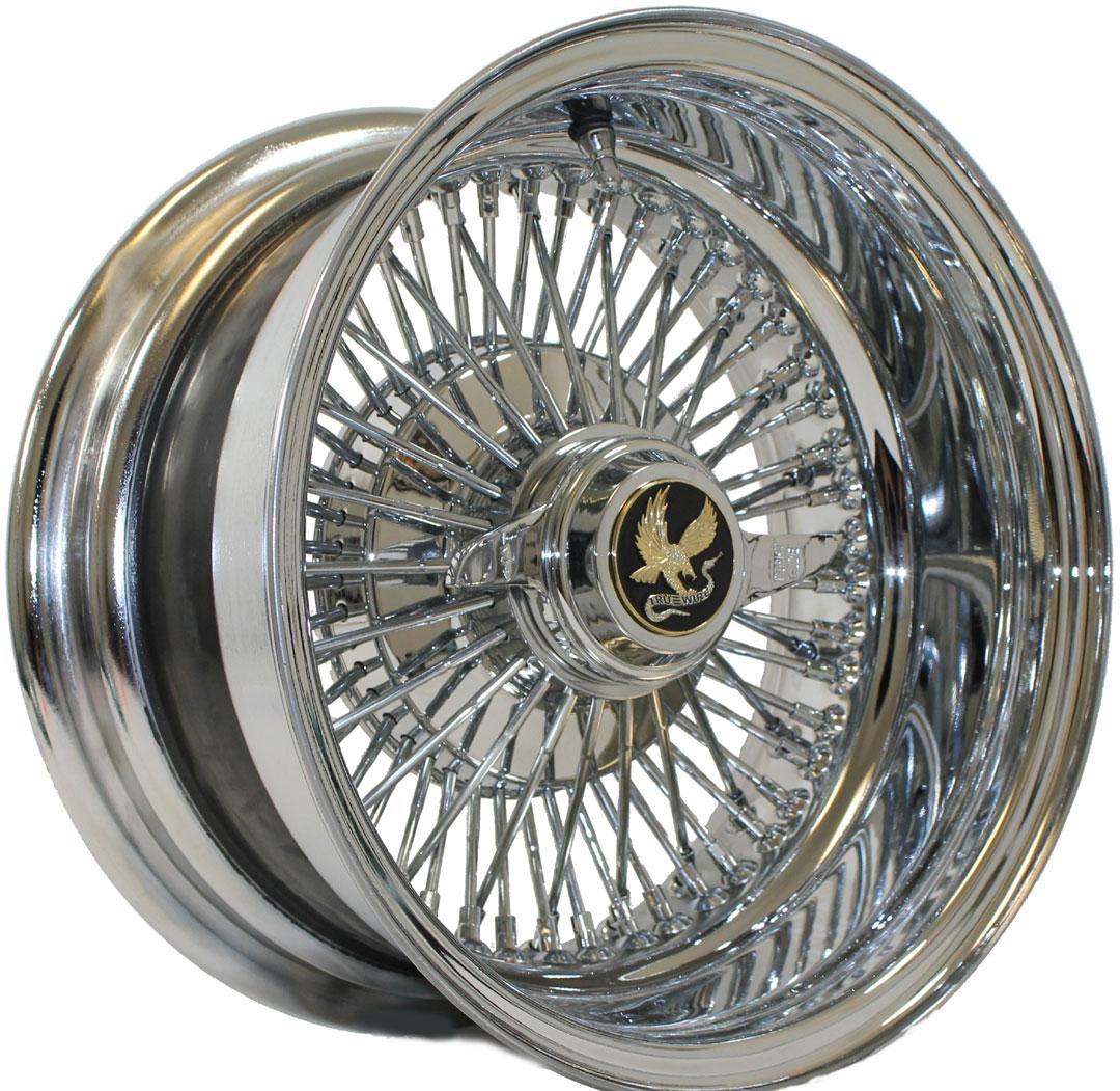 72-Spoke Straight-Lace Wire Wheels