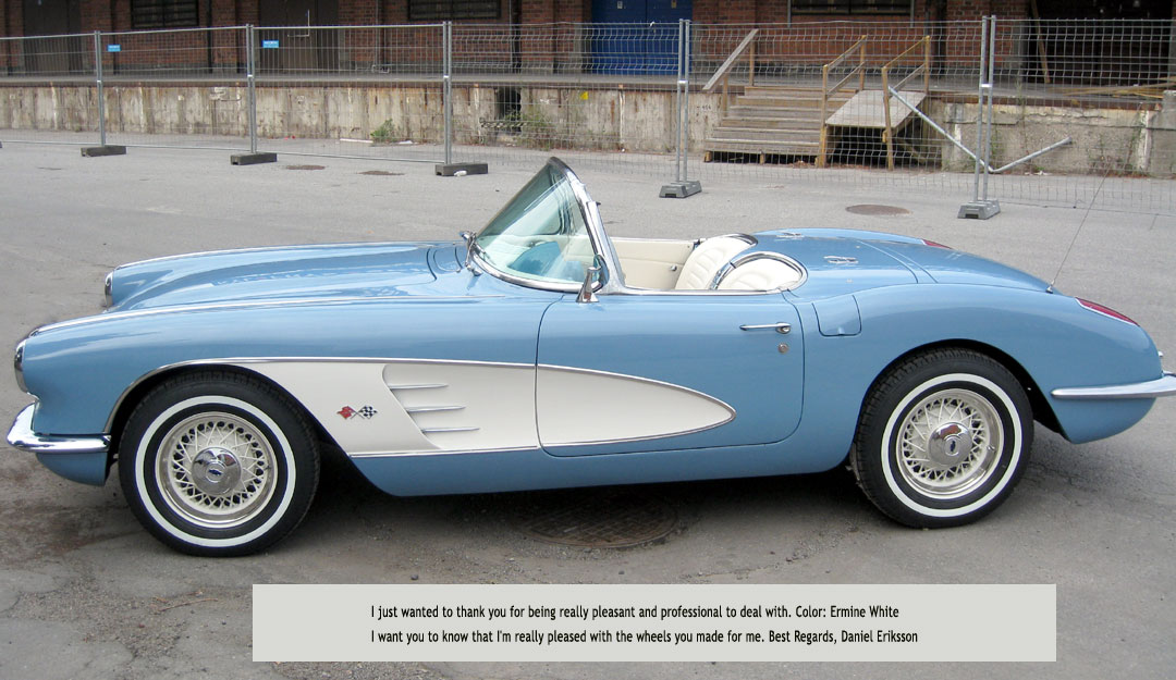 1959 Corvette Wire Wheels - WIRE Center •