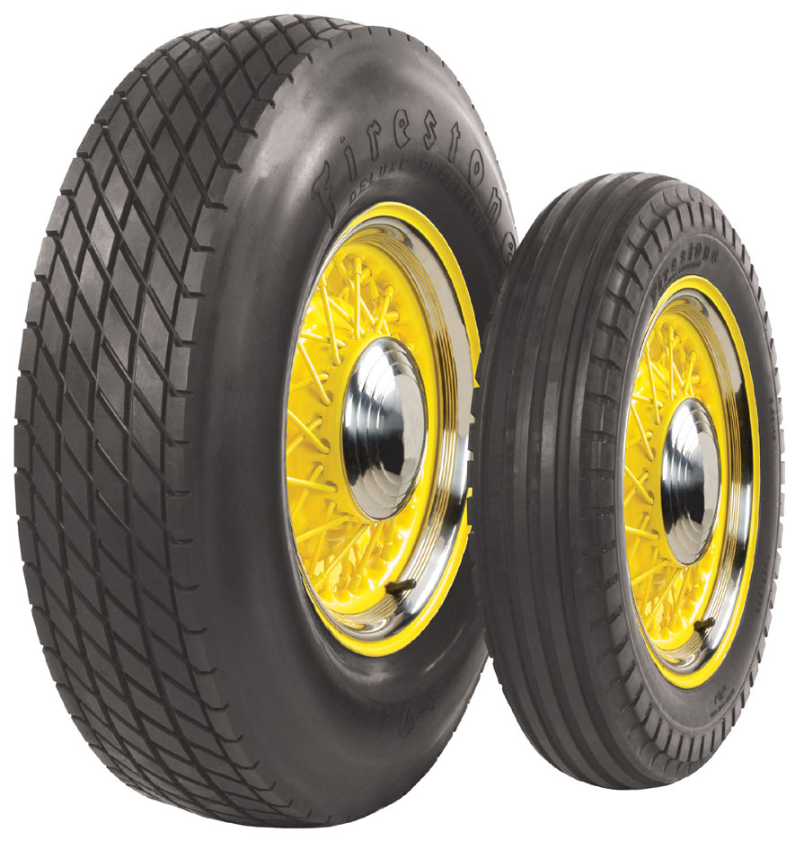 Whitewall Tire Firestone brand.