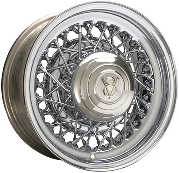 Hot Rod 52-spoke wire wheel.