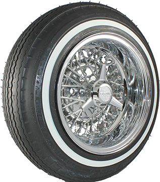 Premium Sport 5.20 whitewall tire.
